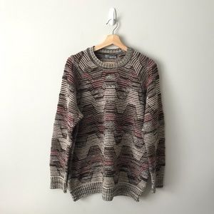 Vintage Missoni Sport Wool Multicolor Sweater Knit